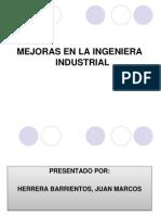 Mejoras Ing. Industrial