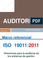 Auditorias Iso 19011 2011
