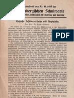 Einfache Schülerversuche mit Naphthalin 1929 Schulversuche Chemie