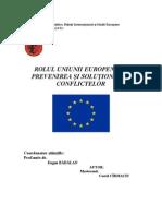 03 ROLUL UNIUNII EUROPENE ÎN PREVENIREA ȘI SOLUȚIONAREA CONFLICTELOR- COSTEL