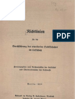 L.Dv.775 Richtlinien für die Durchführung des erweiterten Selbstschutzes im Luftschutz 1938