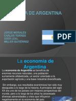 Economía de argentina