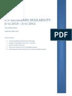 U.S. Broadband Brief NTIA