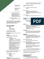 Handout  Medical Surgical Nursing Lyme Disease