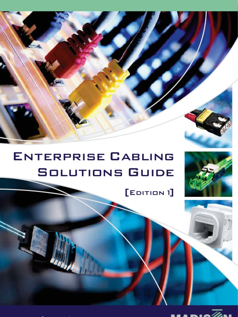 Enterprise Cabling Email 1pdf Electrical Connector Cable White Sheathed Old Colours Red Black 6mm Twin Earth Wiring
