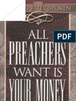 All Preachers Want is Your Money - Avanzini
