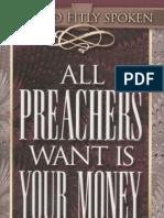 All Preachers Want is Your Money - Avanzini