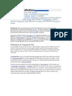 A. Taxes on Income & Profit