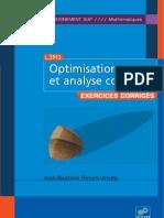 Optimisation Et Analyse c
