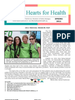 Spring 2011 Newsletter Rev
