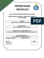 MEDICION DE PRESION Y CALIBRACIÓN DE TERMOMETROS