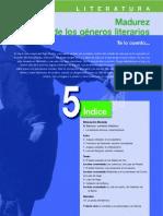 Literatura. Unidad 5- Madurez de los  géneros literarios