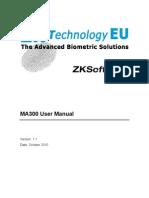 Manual Usuario MA300