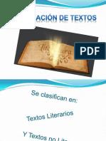 Clasificación de textos