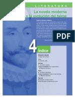 Literatura. Unidad 4- La novela moderna  y la evolución del héroe