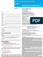Strategic Business & Financial Planning Reg. Form
