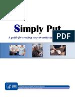 CDC Simply Put