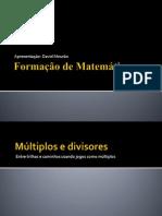 Formação de Matemática