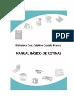 07 TRE-PI Manual Rotinas Aurora Buna