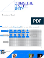 BRIDGING THE GAP BETWEEN THE COMMUNITY AND THE END USER. THE STORY OF SPARK.