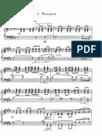rachmaninov Fantasy Pieces op 3