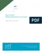 PCG Utah Medicaid Expansion Analysis