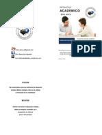 ITAIC Instructivo Academico 2013 -2014