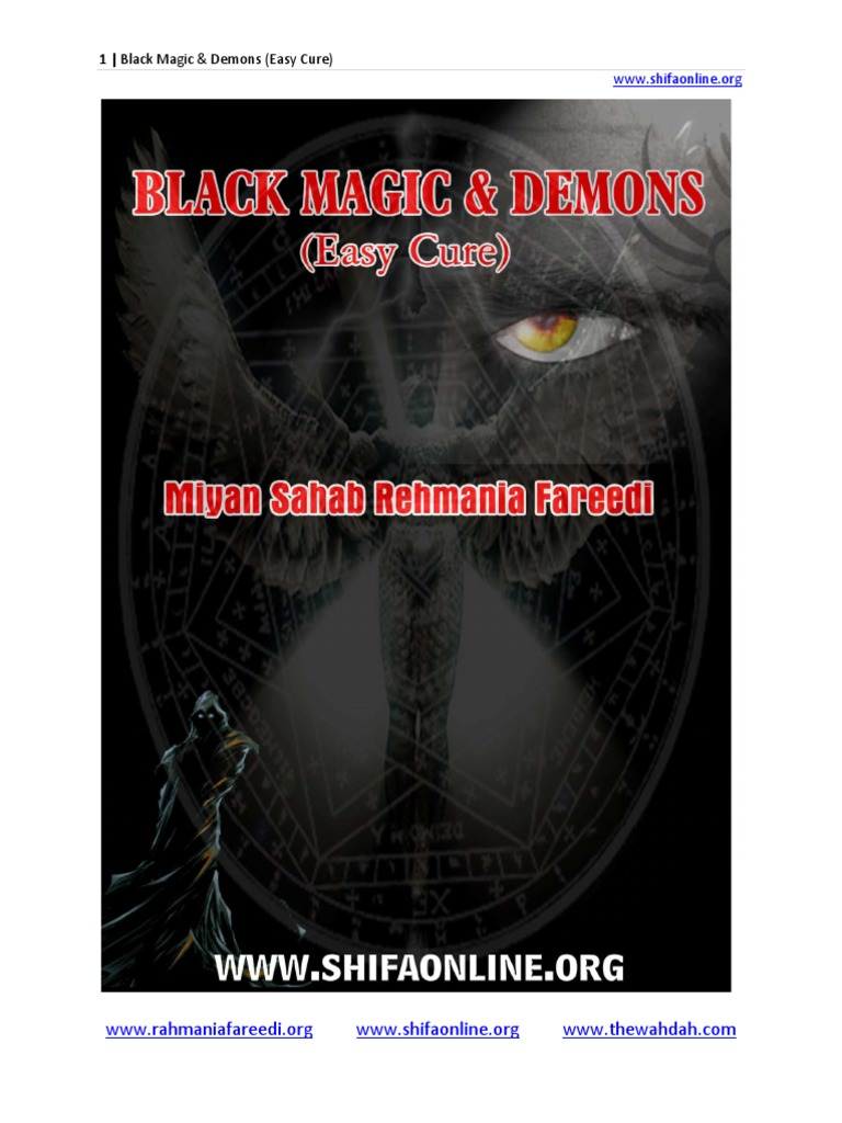 Black Magic and Demons (Easy Cure) | Magic (Paranormal) | Demons