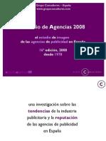 Estudio Agencias 2008