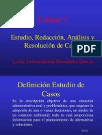 Admon 3 Unidad 1 Estudio, Analisis y Resolucion de Casos