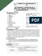 UNIDAD DE APRENDIZAJE Nº 02 HGE  5TO GRADO 24 DE MAYO DEL  2013