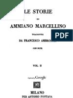 Ammiano Marcellino - Le Storie Vol. 2