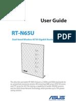 ASUS RT-N65U Manual