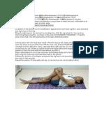 Yoga Lesson 4