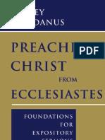 41051751 Preaching Christ From Ecclesiastes