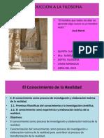 Filosofia Quinta Clase Magistral2013
