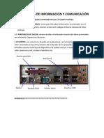 TECNOLOGIAS DE INFORMACION Y COMUNICACIÓN