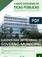 Revista Mato-grossense de Políticas Públicas Nº 01 com ISSN