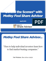 Motley Fool Share Adviser