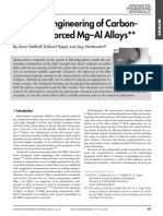 Carbon reinforced Mg-Al alloys