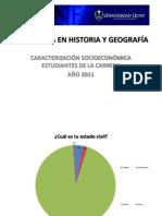 CARACTERIZACIÓN SOCIOECONÓMICA ESTUDIANTES 2011