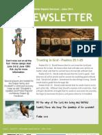 Living Water Newsletter