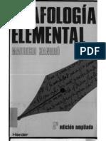 Grafologia Elemental Xandro