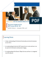 0713 Document Imaging and the SAP Document Imaging and the SAP Content Server 101