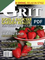 Grit magazine July-Aug 2010