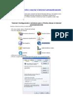 Como fazer o Firefox conectar à internet automaticamente no windows