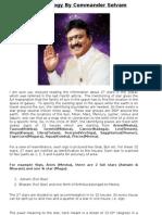 Correct Vedic Astrology by Commander Selvam