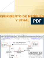 Experimento de Meselson y Sthal