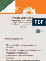 Ontario Securities Commission presentation