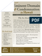 2d Annual Eminent Domain & Condemnation in Hawaii - Aug 21, 2013 - Honolulu - The Seminar Group